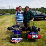 Made it through my 1st Glastonbury with my expert sherpa son, Jon