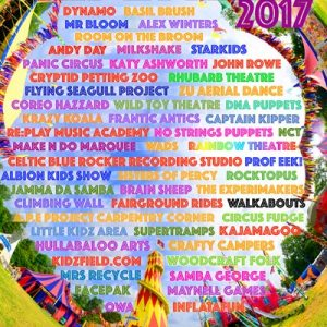Kidzfield's amazing 2017 line-up is revealed!