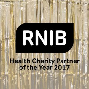 RNIB is our Health Charity of the Year for 2017
