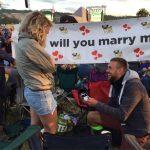 Wedding proposal to my daughter, Sunday night,so very happy xx