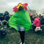 #glowingflower