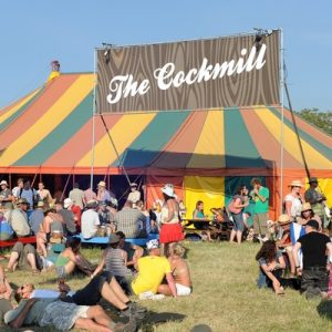 Some of the bars at Glastonbury 2017