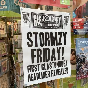 Stormzy to headline Friday night at Glastonbury 2019