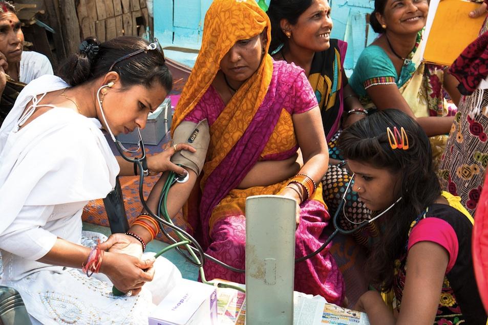 Bhopal health worker