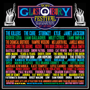 Glastonbury Festival 2019 line-up so far