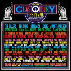 Glastonbury Festival 2019 line-up so far