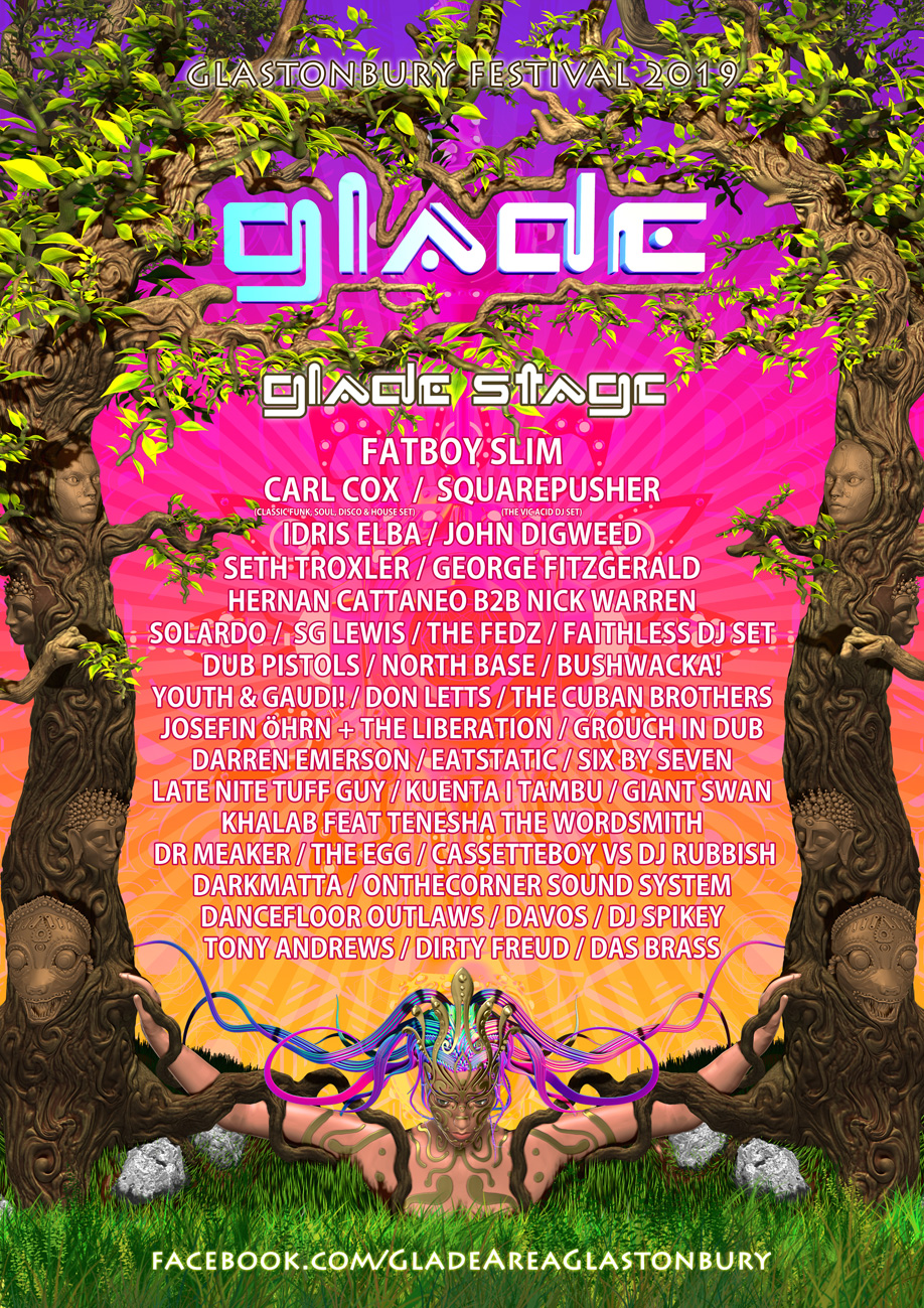 The Glade Area | Glastonbury Festival