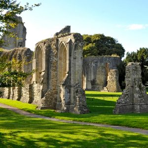Half-price entry to Glastonbury Abbey for 2019 Festival ticket holders