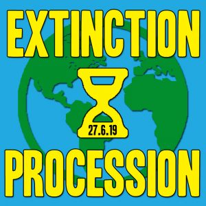 Join the Extinction Procession at Glastonbury 2019