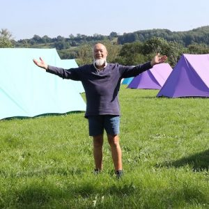 Michael Eavis chats about the campsite, Extravaganza and his optimism for Glastonbury 2022