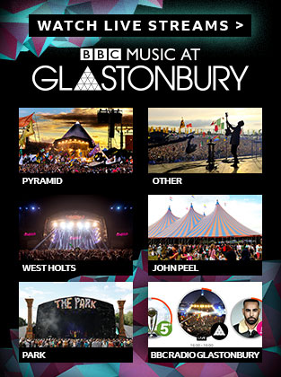 BBC Glastonbury Feeds